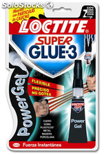 Pegamento instant s glue power gel 3 g