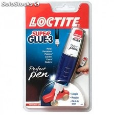 Pegamento Instantaneo 3 Gr Super Glue3 Perfect Pen Loctite