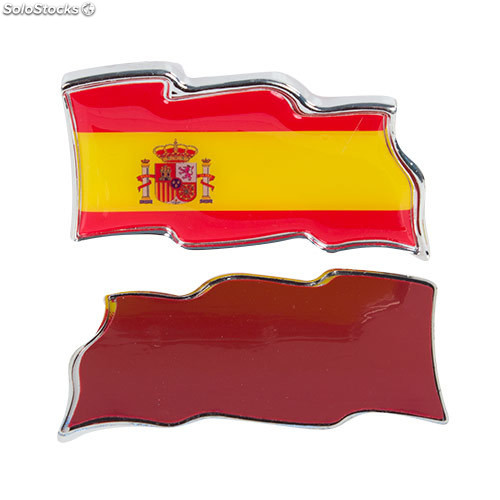 5081d0d9b3d9 Pegatinas para Coches Bandera de España Th3 Party (pack de 2)