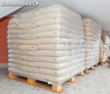 Pellets de madera de 6 mm - 8 mm Disponible a granel