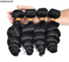 pelos pelucas lot Unprocessed European Loose Wave Natural Color
