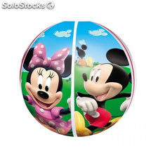 Pelota de playa hinchable Mickey y Minnie 51 cm - Disney