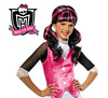 Peluca de Draculaura de las monster high niñas