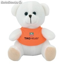 Peluche bear : colores - blanco