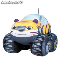 Peluche Blaze and the Monster Machines 21 cms - Stripes