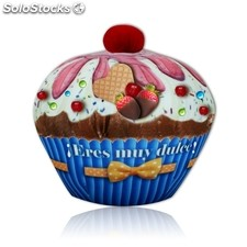Peluche cup cake 3 '' eres muy dulce'' 20 cm