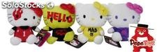 Peluche Hello Kitty Barbarians 20cms