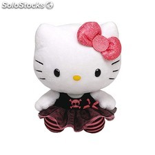 Peluche hello kitty punky 28 cm