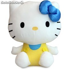 Peluche hello kitty white 30 cm azul - play by play - hello kitty - 760012950