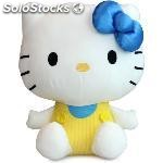Peluche hello kitty white 30 cm rosa