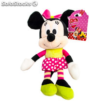 Peluche i love minnie 20 cm falda topos - play by play - minnie - 8425611301339