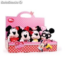 Peluche i love minnie 20 cm peto - play by play - minnie - 8425611301339 -