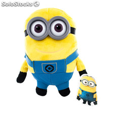 Peluche minions dave 22CM - play by play - minions - 8425611333231 - 760013323