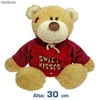 Peluche Osito Sweet Kisses (30 cm)