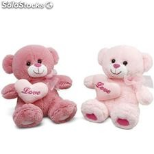 Peluche ours assortis (21 cm)