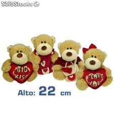 Peluche ours assortis (22 cm)