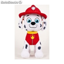 Peluche patrulla canina - marschall 27 cm - play by play - paw patrol -