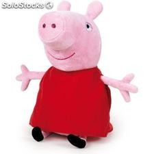 Peluche peppa pig 27 cm - play by play - peppa pig - 8425611341113 - 760014111
