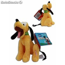 Peluche pluto supersoft 20 cm