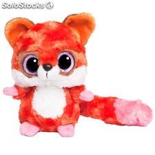 Peluche Red Fox Yoohoo & Friends ojos brillantes 20cm
