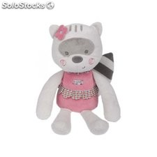 Peluche tuc tuc mapache niña magic forest