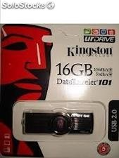 Pen Drive Kingston Datatreveler 2.0 SE8 64GB Azul nacional