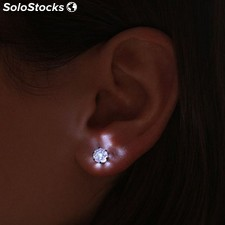 Pendientes led diamante