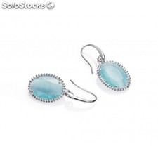 Pendientes Viceroy Jewels Mujer Plata Plateado Cristal