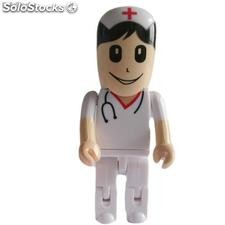 Pendrive 8Gb Enfermera / Doctora