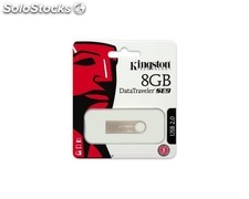 Pendrive 8Gb Kingston DT SE9 Plata