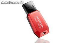 Pendrive 8GB USB2.0 adata UV100 rojo PGK02-A0008643