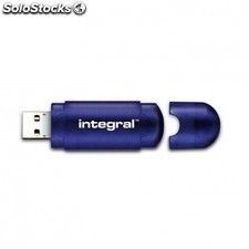 Pendrive integral EVO - 64gb - USB 2.0 - compatible PC y mac - azul