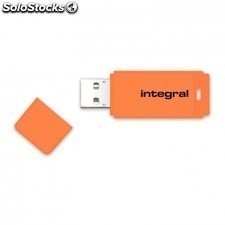 Pendrive integral neon infd16gbneonor - 16gb - USB 2.0 - compatible PC y mac -