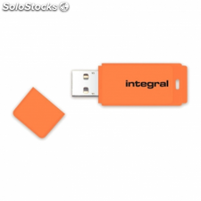 Pendrive integral neon infd32gbneonor - 32gb - usb 2.0 - compatible