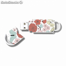 Pendrive integral xpression butterfly - 32gb - usb 2.0 - compatible