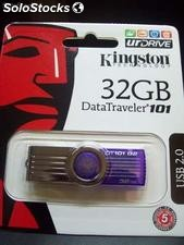 Pendrive Kingston Datatraveler 101 32gb Garantia Blister