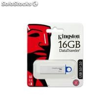 Pendrive Kingston DTIG4 16 GB usb 3.0 Blanco Azul