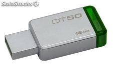 Pendrive memoria usb 16GB Kingston DT50/16GB Verde