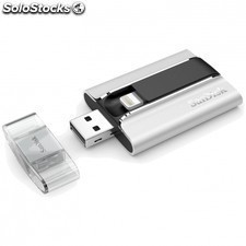 Pendrive SANDISK ixpand 64gb - conectores lightning/USB 2.0 - transfiere fotos