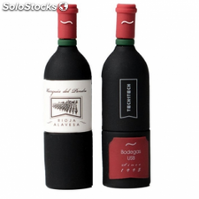 Pendrive tech one tech botella vino marques del pendrive 16gb usb 2.0