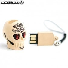 Pendrive TECH ONE tech calavera tattoo - 8gb - USB 2.0