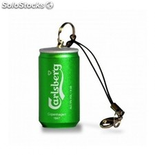 Pendrive tech one tech lata de cerveza carlsberg 16GB usb 2.0