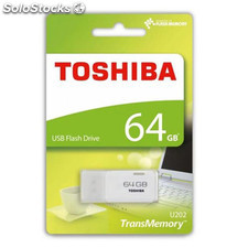 Pendrive Toshiba Blanco USB 64GB 2.0