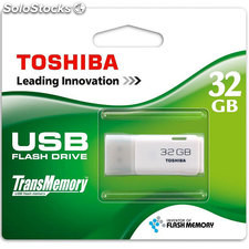 Pendrive toshiba usb 32GB blanco