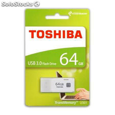Pendrive Toshiba USB 64GB 3.0 Blanco