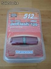 Pendrive Transcend Ultra Speed Jetflash120 512mb