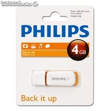 Pendrive , usb philips 4GB