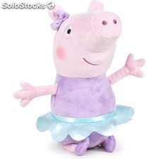 Peppa pig dancing 30CM - peppa pig ready for fun - play by play - peppa pig -