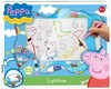 Peppa Pig. Pizarra luminosa Lightbox