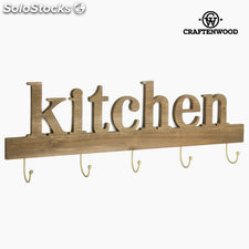 Percha 5 pomos kitchen by Craftenwood